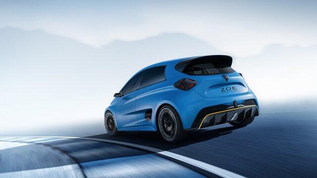 Renault ZOE e-Sport Concept vista traseira