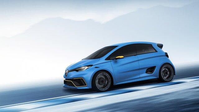 Renault ZOE e-Sport Concept - oldalnézetből