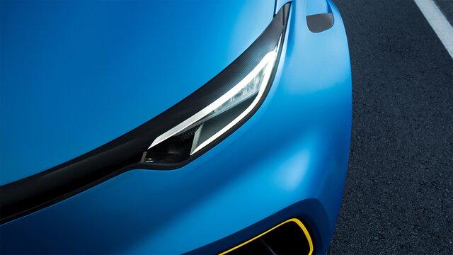 Renault ZOE e-Sport Concept faróis