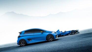 Renault ZOE e-Sport Concept Fahrwerk