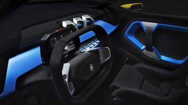 Renault ZOE e-Sport Concept dashboard