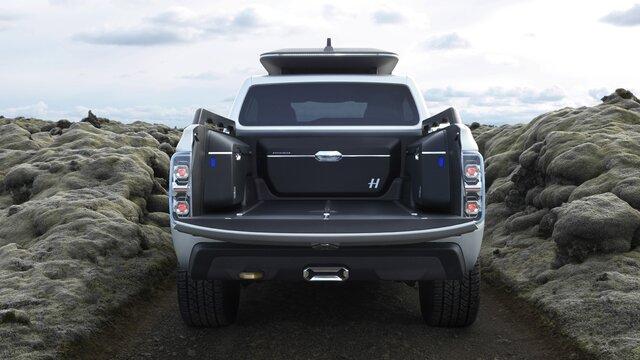 Renault Alaskan Concept Car Heck und Ladefläche