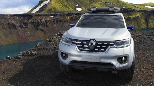Renault Alaskan Concept Car Frontansicht