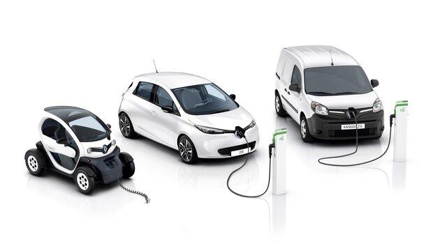 Renault Z.E. járművek választéka