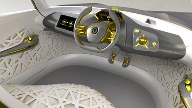 KWID Concept - Belső kialakítás