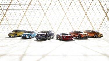 Renault concept car range