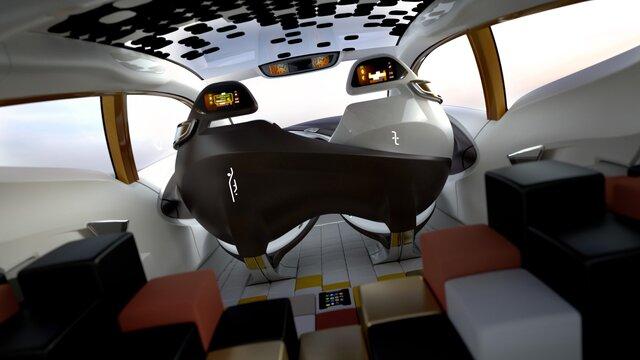 R-SPACE Concept - Belső kialakítás