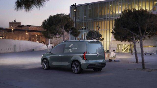 Renault Kangoo Z.E. Concept Car Heckansicht