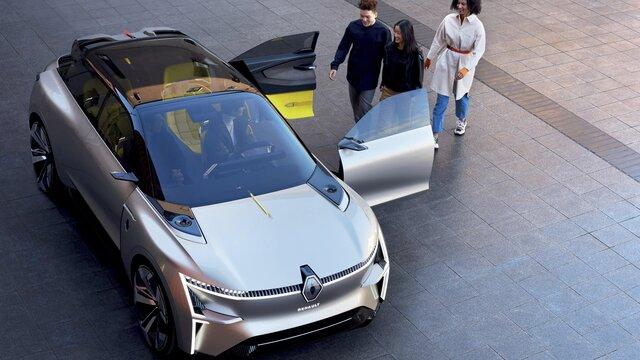 Konceptni automobil Renault MORPHOZ