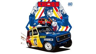 Illustration Greg - Renault 4 - Cross