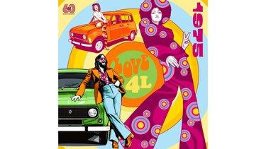 Illustration Greg - Renault 4 seventies