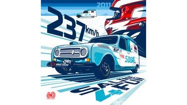 Illustration Greg - Renault 4 - Saline 4 fun