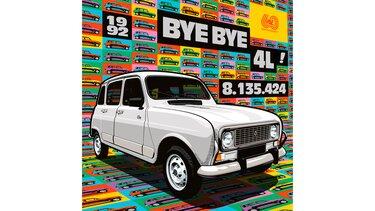 Illustration Greg - Renault 4 Clan - Byebye