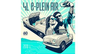 Illustration Greg - Renault 4 - e-Plein Air