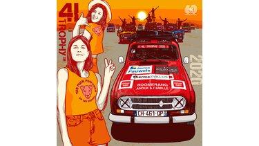 Illustration Greg - Renault 4 - 4L Trophy