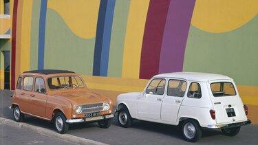 Renault 4 fourgonnette - modèle 1974