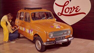 Renault 4 export modèle 1974