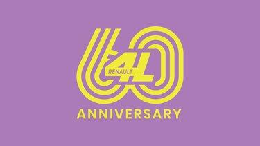 Renault 4 60 ans