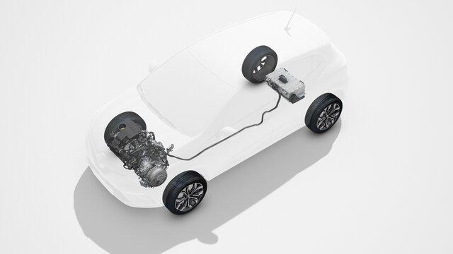 Antriebe von Renault Hybridfahrzeugen