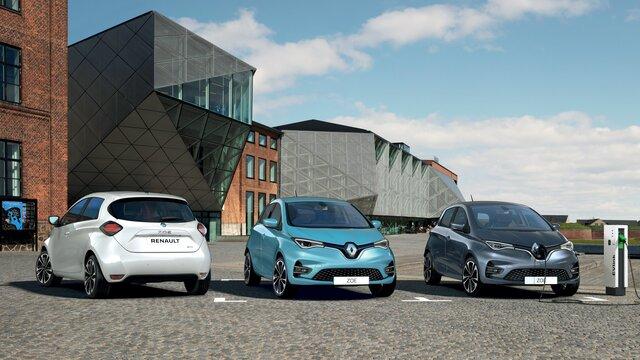 Gamme électrique Renault