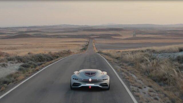 Koncepčné vozidlo TREZOR pre motoristický šport Renault