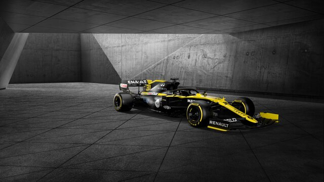 Renault Sport - bolid Formuła 1, R.S. 19