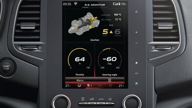 Renault Sport Monitor: technological innovations