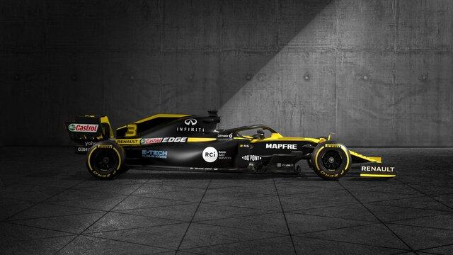 Renault sport - Formula 1 R.S. 19 - profil