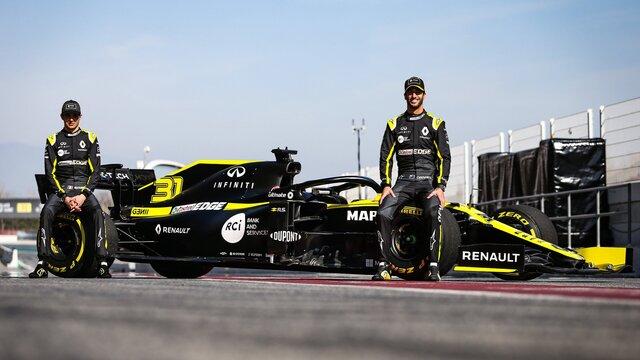 Renault Formule 1 R.S. 19, pilotes