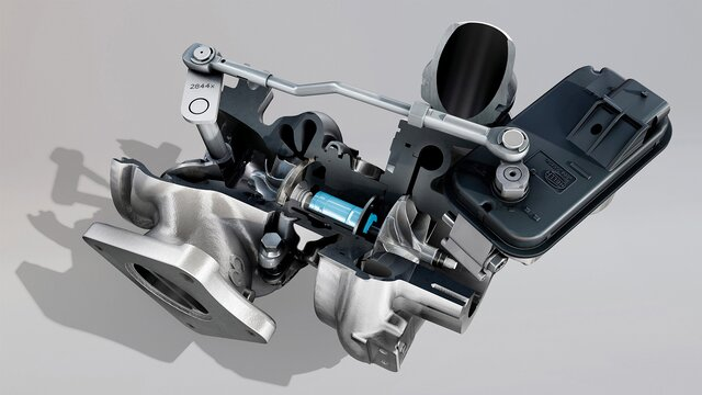 Renault Sport – turbo ballbearing-teknologi