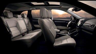 Передні та задні сидіння - Renault Koleos