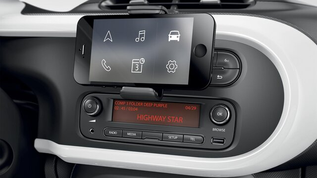 Verbonden R&Go-radio - Renault Easy Connect