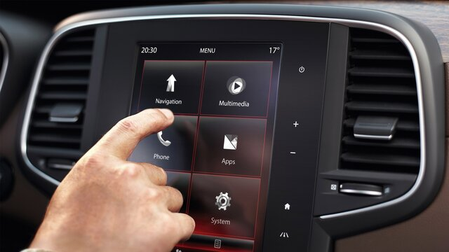 Multimediální systém R-LINK 2 - Renault Easy Connect