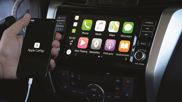 Apple CarPlay™ voor R-LINK 2*