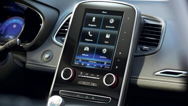 7 or 8.7'' touch screen