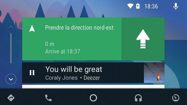 Android Auto™ para Media Nav Evolution*