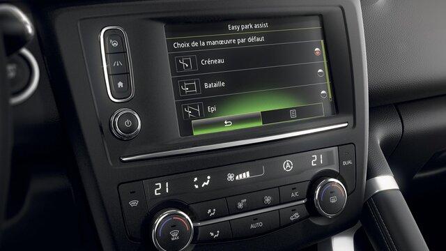 Renault R-LINK 2-scherm