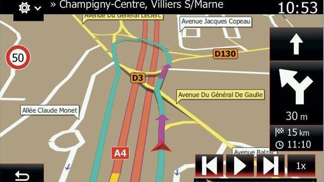 Info traffic TMC via la radio