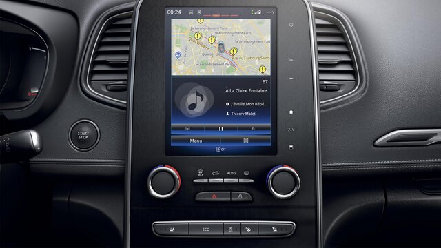 Apple CarPlay™ voor Media Nav Evolution*
