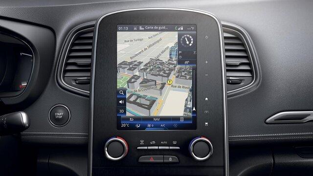 Kaarten in 3D - Renault Easy Connect
