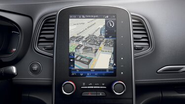 Cartographie 3D - Renault Easy Connect