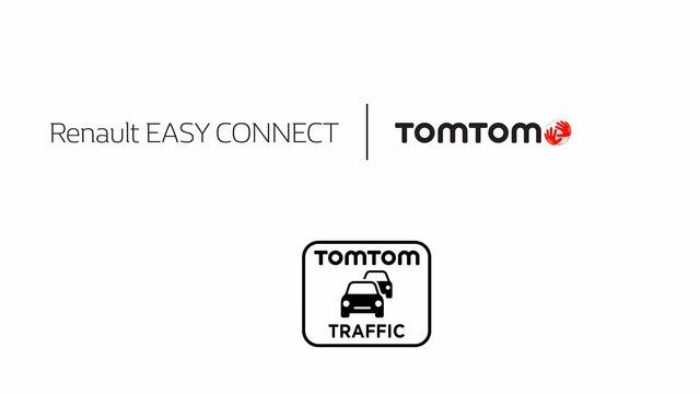 Dopravní informace TomTom - Renault Easy Connect