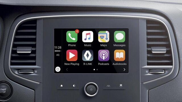 Apple CarPlay™ para R-LINK 2*