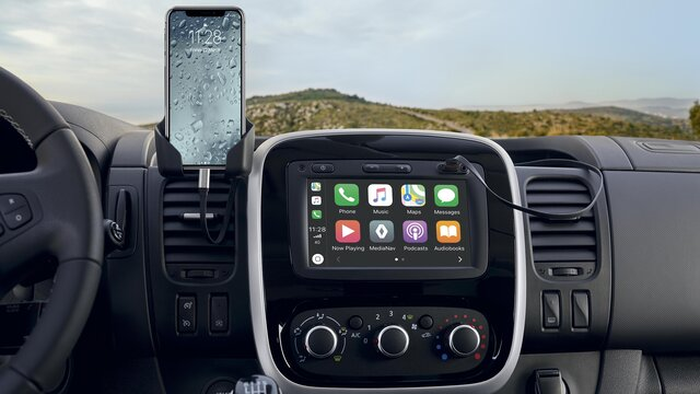 Apple CarPlay™ til Media Nav Evolution*