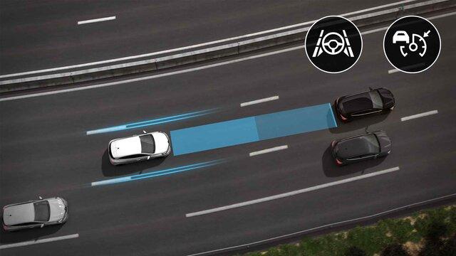 Asistente de conducción en autopista