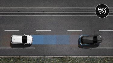 Régulateur de vitesse adaptatif