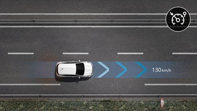 Pilot automat - Limitator de viteză - Renault EASY DRIVE