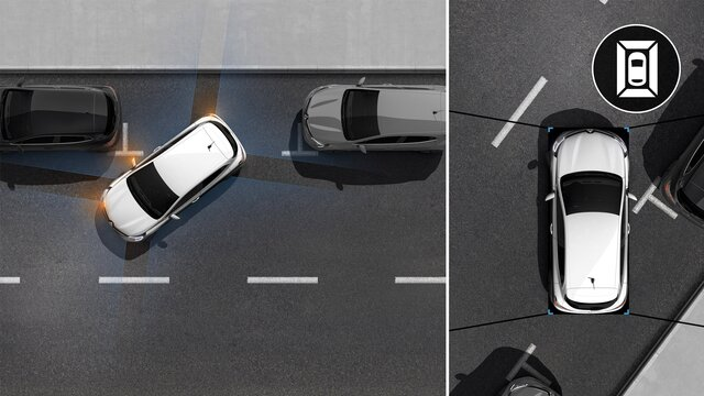 Cámara 360° - Renault EASYDRIVE