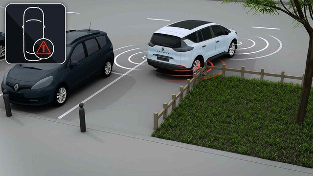 Kamera od 360° – Renault EASYDRIVE