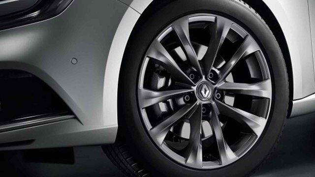 Renault MEGANE – 17-Zoll-Aluminiumfelgen